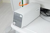 炭酸ガスを用い、検査中、検査後の苦痛を軽減します。